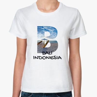Классическая футболка Океан, Бали, Индонезия