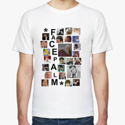 Футболка  футболка Facepalm