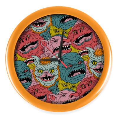 Настенные часы Psychodelic Monster's