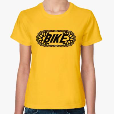 Женская футболка BIKE