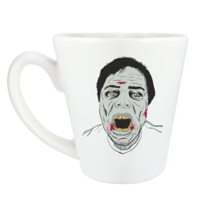 Чашка Латте Зомби