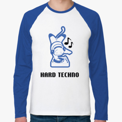 Футболка реглан с длинным рукавом Hard Techno