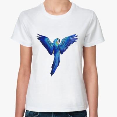 Классическая футболка Попугай