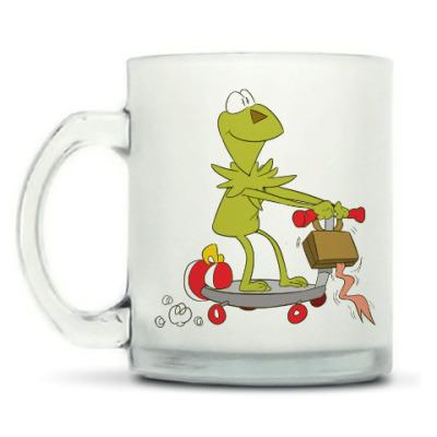 Кружка матовая Kermit the Frog