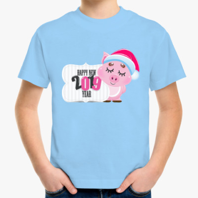 Детская футболка Кабан 2019