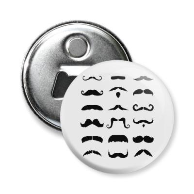 Магнит-открывашка Усы