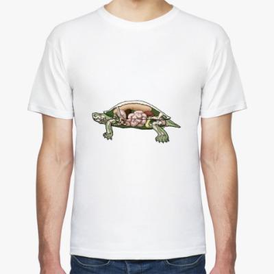 Футболка Внутренности черепахи