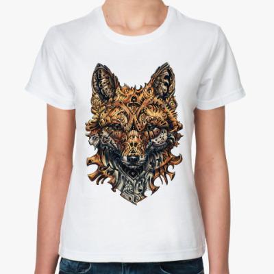 Классическая футболка Mechanical Fox