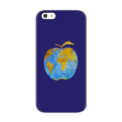 Чехол для iPhone 5c Apple Earth