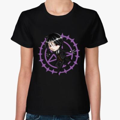 Женская футболка Тёмный дворецкий Себастьян