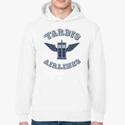 Толстовка худи Tardis Airlines