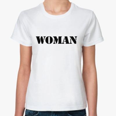 Классическая футболка  WOMAN