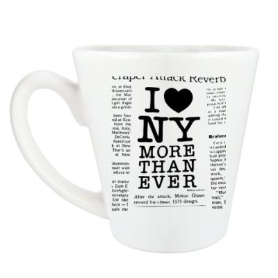 Чашка Латте I Love NY