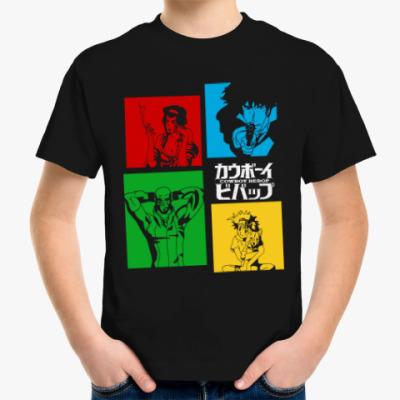 Детская футболка Ковбой Бибоп