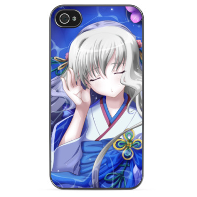 Чехол для iPhone Девушка в кимоно