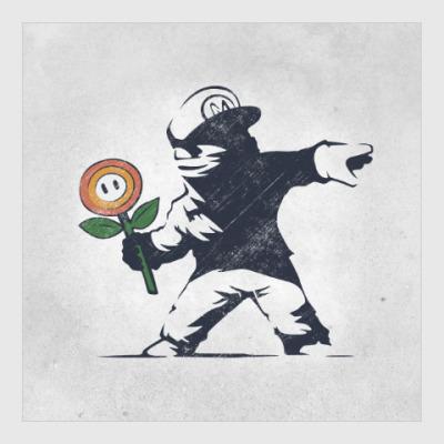 Постер Грффити Марио
