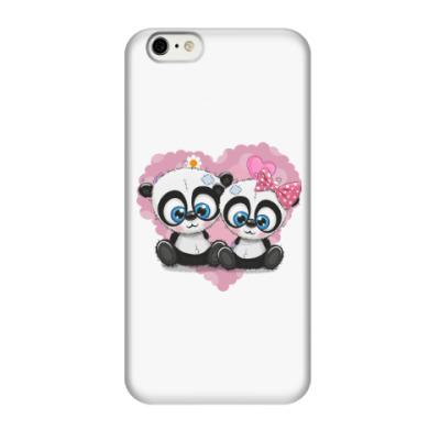 Чехол для iPhone 6/6s Маленькие панды