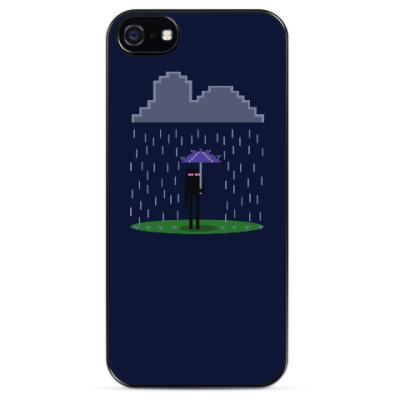 Чехол для iPhone Enderman . Minecraft