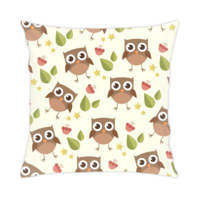Подушка Совушки, совы, owl