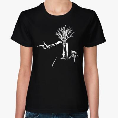 Женская футболка Грут и Енот