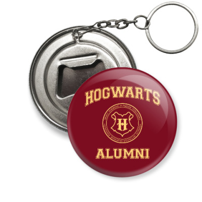 Брелок-открывашка Hogwarts Alumni
