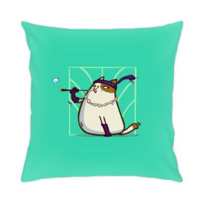 Подушка Кэтсби — Пятничный Котик №33