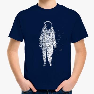Детская футболка Космонавт