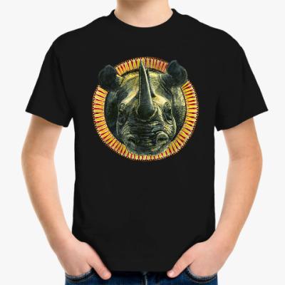 Детская футболка 'Носорог'