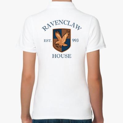 Женская рубашка поло Ravenclaw