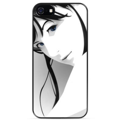 Чехол для iPhone Девушка присмотрит за тобой