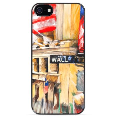 Чехол для iPhone Уолл стрит