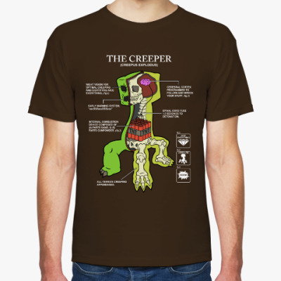 Футболка The Creeper
