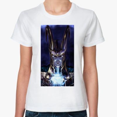Классическая футболка Ледяное дыхание