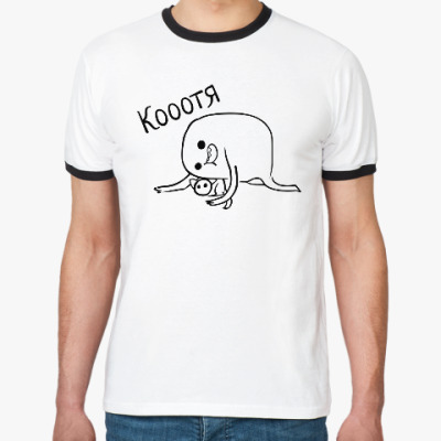 Футболка Ringer-T Кооотя
