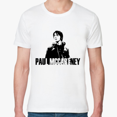 Футболка из органик-хлопка Paul Mccartney