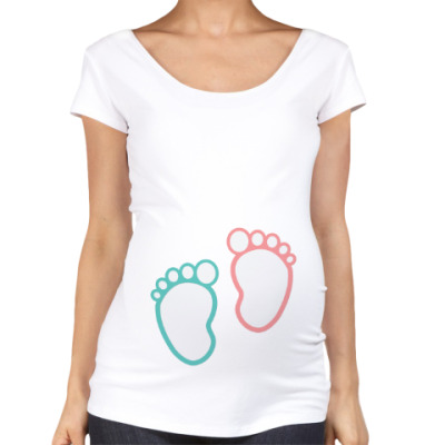 Футболка для беременных Футболка для беременных (белая)