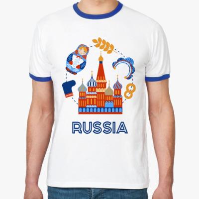Футболка Ringer-T Russia, Россия