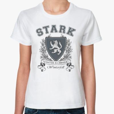 Классическая футболка House Stark