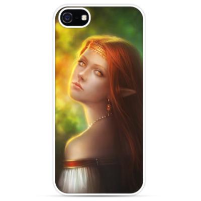 Чехол для iPhone Эльфийская Алёнушка
