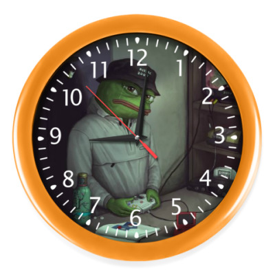 Настенные часы Pepe Frog