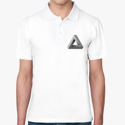 Рубашка поло Невозможный Треугольник 3D