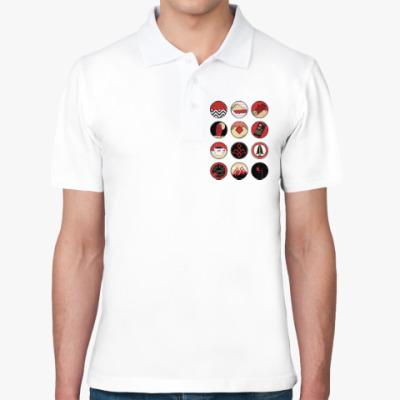 Рубашка поло Сериал Твин Пикс Twin Peaks