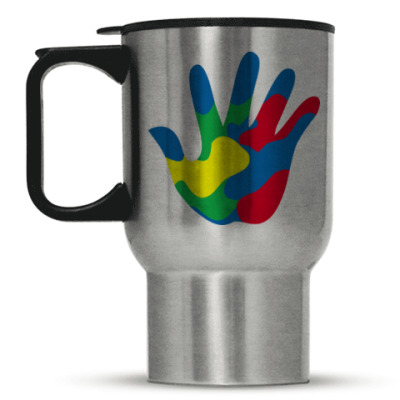 Кружка-термос Отпечаток Руки