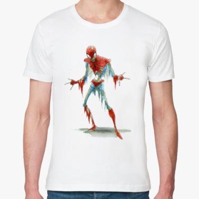 Футболка из органик-хлопка Spider-man Zombie