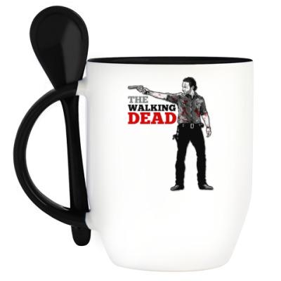 Кружка с ложкой The Walking Dead