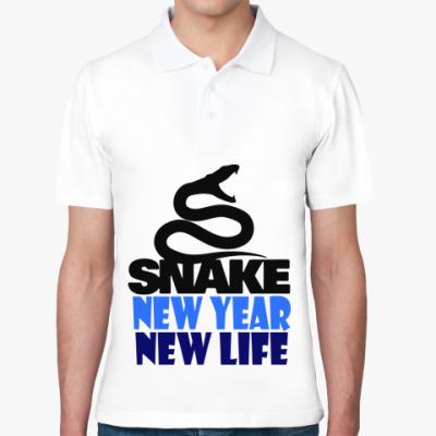 Рубашка поло Snake -New Year New Life
