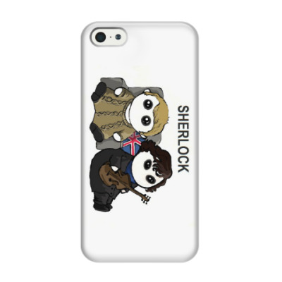 Чехол для iPhone 5/5s Sherlock