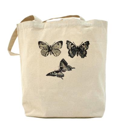 Сумка 'Три бабочки'