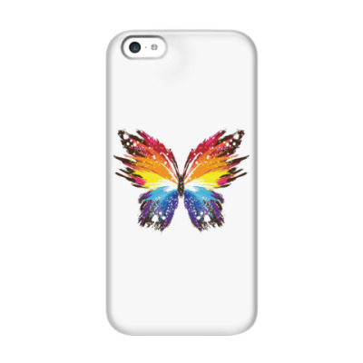 Чехол для iPhone 5c Бабочка