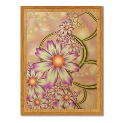 Плакетка Весна
